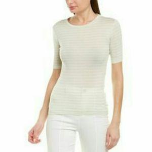 NWT Vince Stripe Cotton Green Tshirt size: S, L